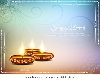 Abstract Colorful Stylish Happy Diwali Background In 2019