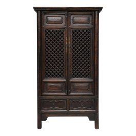 Vintage Used Storage Cabinets Cupboards For Sale Chairish Antique Chinese Cabinet Storage Cabinets Cupboards For Sale