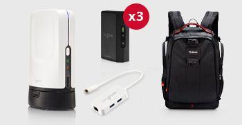 Cleaning Kit SlingStudio Wireless CameraLink with Backpack Lenspen