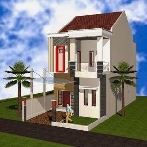 Desain Rumah Minimalis Modern 2 Lantai Ukuran 9x6 Di 2020 | Rumah Minimalis,  Rumah, Desain Rumah