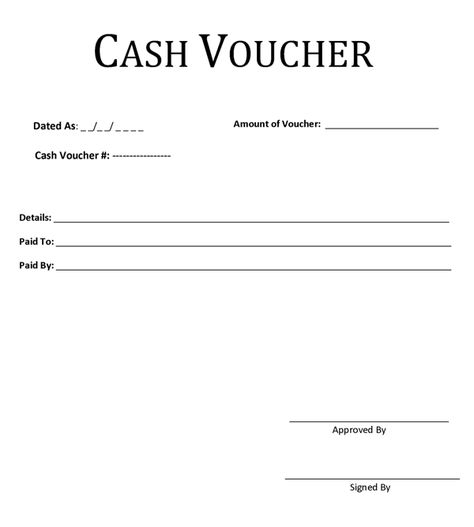 Cash Voucher Template Desktop Pinterest   Cash Payment Voucher Format  Payment Voucher Template