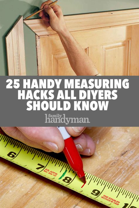Woodworking Ebanisteria 25 Handy Measuring Hacks All DIYers Should Know.Woodworking Ebanisteria 25 Handy Measuring Hacks All DIYers Should Know Woodworking Techniques, Woodworking Projects Diy, Woodworking Jigs, Diy Wood Projects, Handyman Projects, Dremel Tool Projects, Woodworking Magazines, Diy Projects For Men, Unique Woodworking