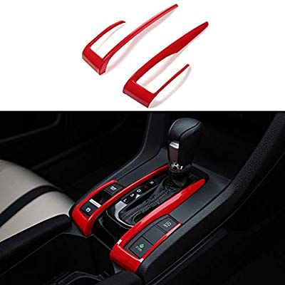 Thenice For 10th Gen Civic Abs Plastic Gear Box Trims Shift Transmission Decoration Stickers For Honda Civic Accessories Civic Accessories Honda Civic Si Coupe