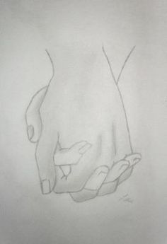 Holding Hands Drawing - #drawing #Hands #Holding