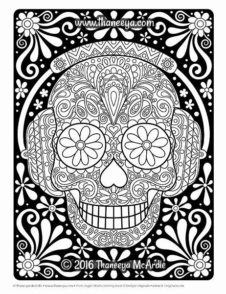 Coloriage Halloween In 2020 Skull Coloring Pages Animal Coloring Pages Bird Coloring Pages