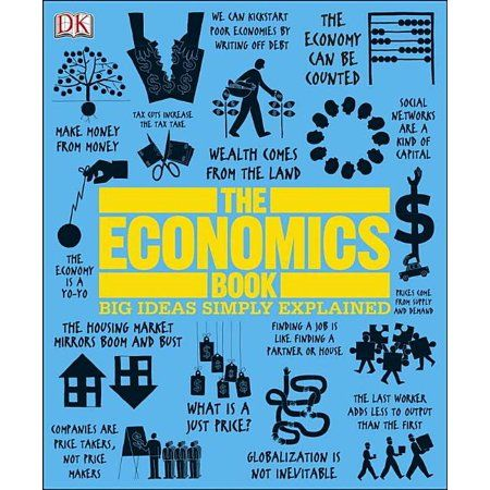 Big Ideas Simply Explained The Economics Book Big Ideas Simply Explained Hardcover Walmart Com In 2021 Economics Books Economics Books