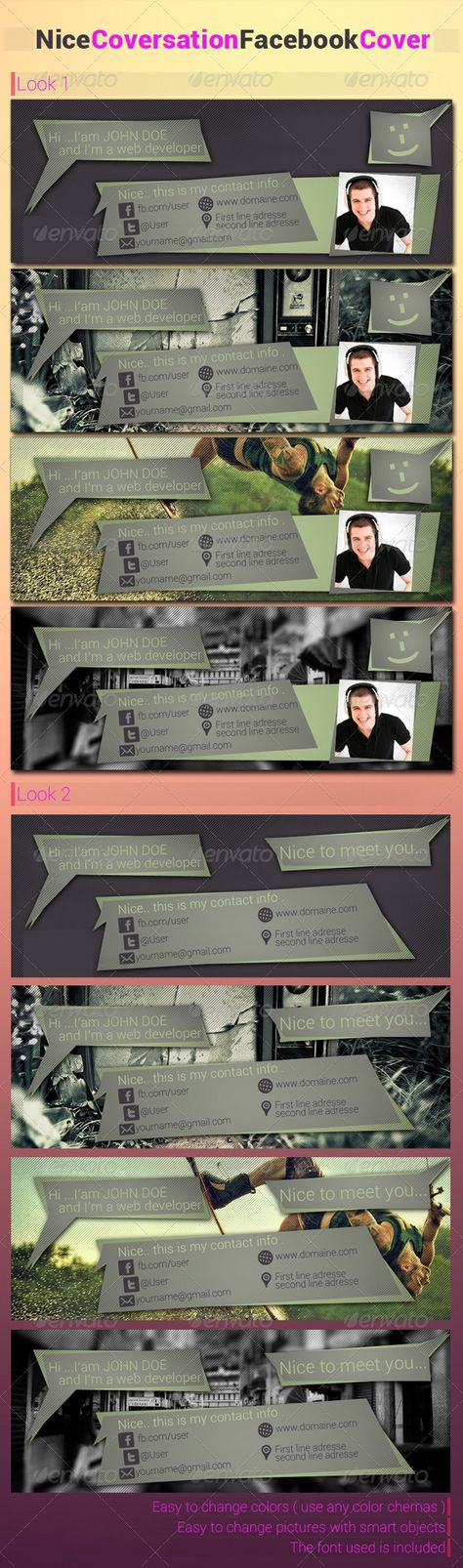 Nice Coversation FB cover Timeline covers, Facebook timeline and - sample facebook timeline