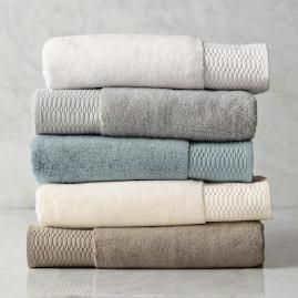 Egyptian Cotton Bath Towels Bathroom Towels Towel Blue