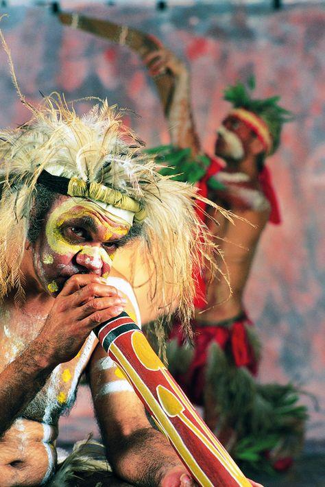 Australian Aboriginal Musician