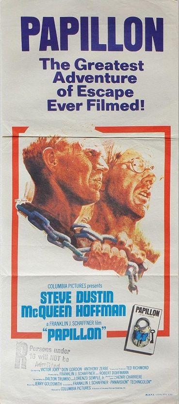 /' Japanese Version Reproduction Poster Print Vintage Movie Film /'Papillon 1973