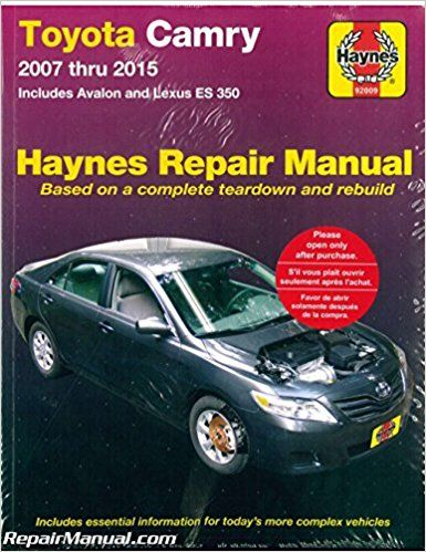 2010 Toyota Camry Repair Manual Pdf Books Pdf Camry Toyota Camry Repair Manuals