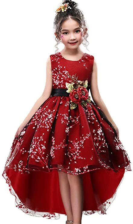 cotton dress red birthday dress Christmas dress dress pleats dress 6 months old baby baby 12 months baby clothing 1 year baby girl Navy Blue