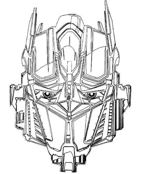 Ausmalbilder Transformers 08 Raskraski Risunki Dlya Raskrashivaniya