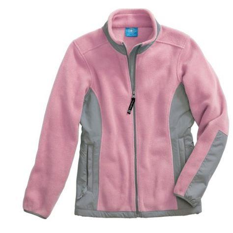 Women's EvoluxTM Fleece Jacket, Pink/Grey for only $56.95  http://www.anorakoutlet.com