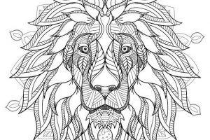 31 Mandalas Y Dibujos De Leones Para Colorear 2020