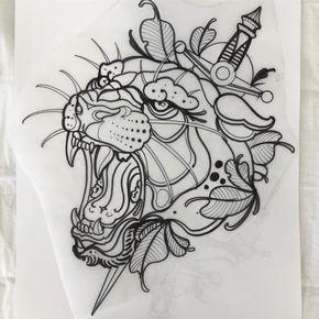 Neo Traditional Tattoo Flash Https Www Facebook Com Fineheartcustomink Traditionaltattoos Traditional Tattoo Flash Traditional Tattoo Neo Traditional