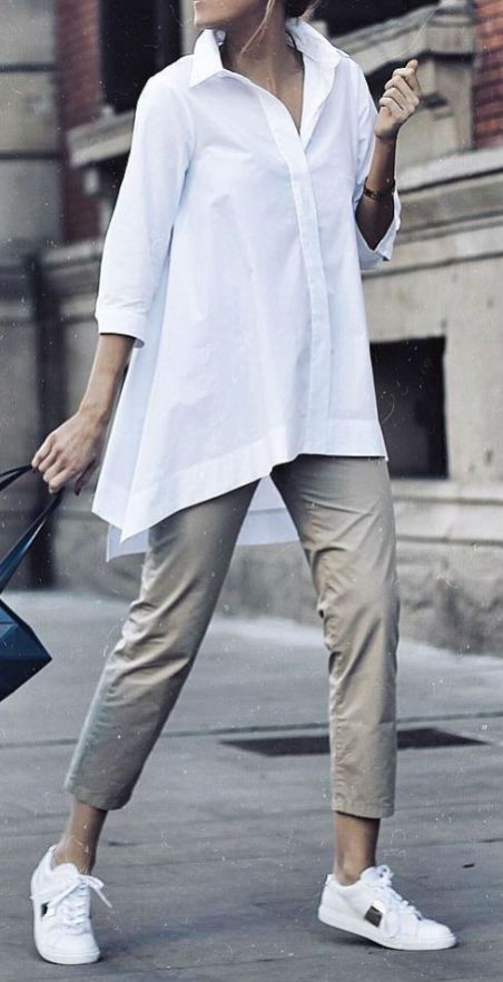 Cute Casual Style Outfit Shirt Plus Pants # Outfits femme 30 New Trend Fashion Outfits for Women's - Fashion & Design