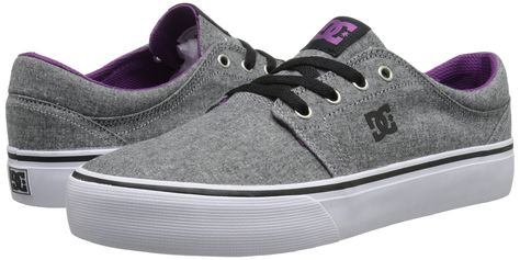 huge discount f5fb6 ab5cd DC Shoes Trase TX SE - Zapatillas bajas para mujer, color blanco   azul  marino, talla 35-36 M