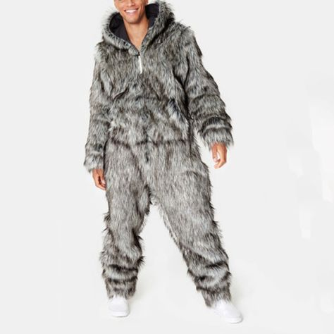 Onepiece Winter is Coming So What Jumpsuit Grau meliert
