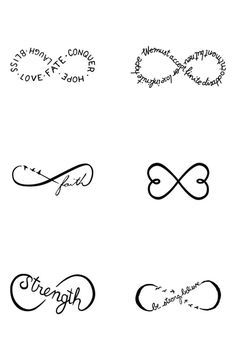 Image Result For Cute Small Tattoos With Meaning Tatoeage Ideeen Oneindigheidstatoeages Vinger Tatoeage