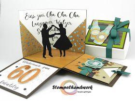 Stempelhandwerk Ein Tanzkurs In Der Box In 2020 Gutscheine Verschenken Gutschein Basteln Verschenken