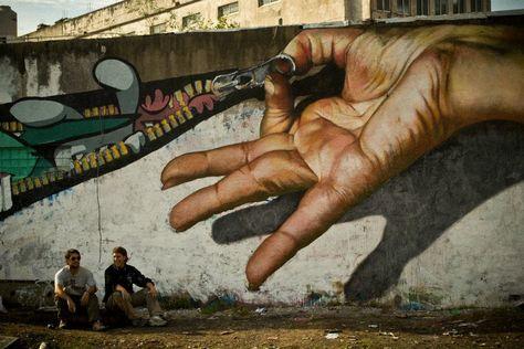 Street Art in Caseros, Buenos Aires, Argentina 2.