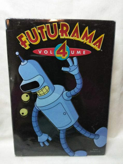 Used Dvds For Sale >> Futurama Volume 4 Dvd 2009 4 Disc Set Gently Used Fox