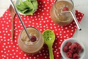 Chocolate Raspberry Creme Smoothie