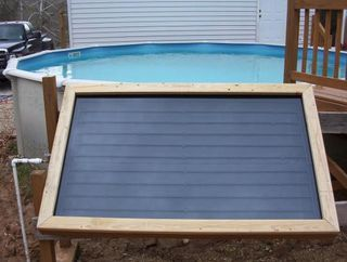 Do It Yourself Solar Swimming Pool Heater Solar Pool Heater Diy Solar Pool Diy Solar Panel