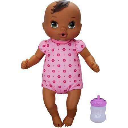 Baby Alive Luv N Snuggle Baby Black Hair Walmart Com In 2020 Baby Alive Dolls Black Baby Dolls Baby Toddler Toys