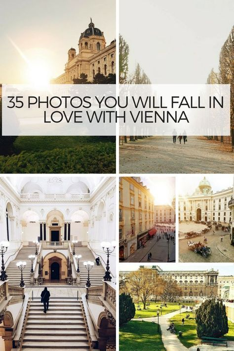 If You Are Thinking Of Travelling To Vienna Here Are 35 Photos Which Might Just Make You Book A Flight To Ciudades De Europa Viajes Culturales Viaje A Europa
