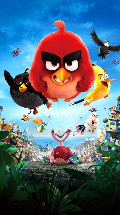 The Angry Birds Movie (2016) Phone Wallpaper | Moviemania