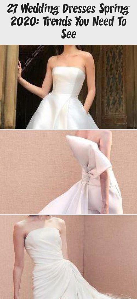 27 Wedding Dresses Spring 2020: Trends You Need To See | Wedding Forward #summerweddingdressesTeaLength #summerweddingdressesBlush #summerweddingdressesWithTrain #summerweddingdressesRed #summerweddingdressesVintage