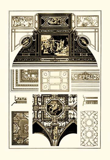 Cloister Vaults And Coved Ceilings By J Buhlmann Art Print Art Prints Graphic Art Print Ceiling Art