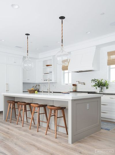 11 Beautiful Kitchen Island Ideas For Your Next Renovation The Eat Down In 2020 Kitchen Cabinets Color Combination Kitchen Island Design Kitchen Cabinet Colors