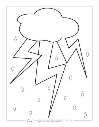 Weather Coloring Pages For Kids Itsybitsyfun Com Coloring Pages For Kids Coloring Pages Weather Theme
