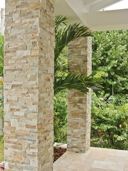 Natural Stones Decorations For Porch Design 09 Exterior Stone Wall Cladding Exterior Stone Front Porch Stone