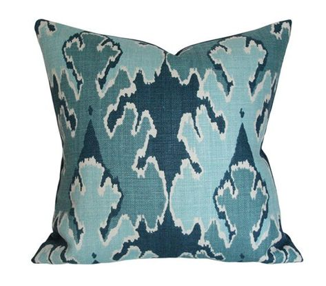 Bengal Bazaar Teal Kelly Wearstler Pillow Cover Custom