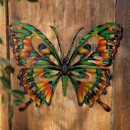 3d Butterfly Multi Metal Wall Art By Next Innovations Walmart Com Art Butterfly Innovations In 2020 3d Butterfly Wall Art Outdoor Metal Wall Art Outdoor Wall Art