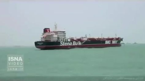 Iran releases new footage of seized oil tanker Stena Impero