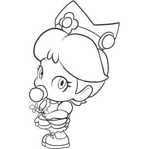 How To Draw Baby Daisy Step 5 Jpg 302 302 Learn To Paint Outline Art Coloring Pages In 2021 Minion Coloring Pages Princess Coloring Pages Chibi Coloring Pages