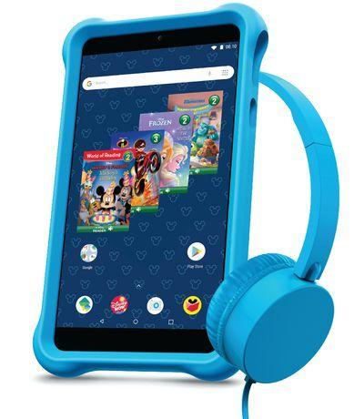 Packard Bell Disney Airbook 7 Android Kids Tablet Bundle Pink