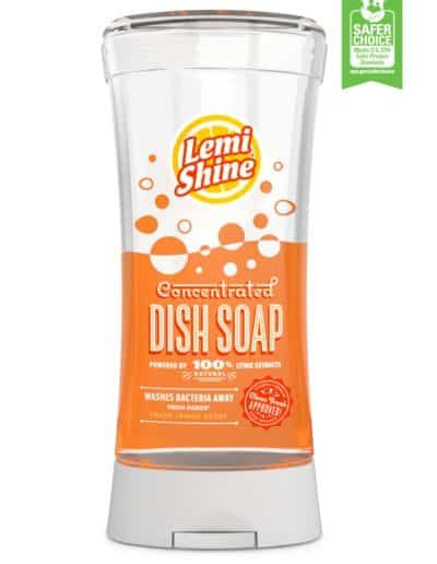 Lemi Shine Dish Soap Dish And Hand Soap Ecofriendlygifts