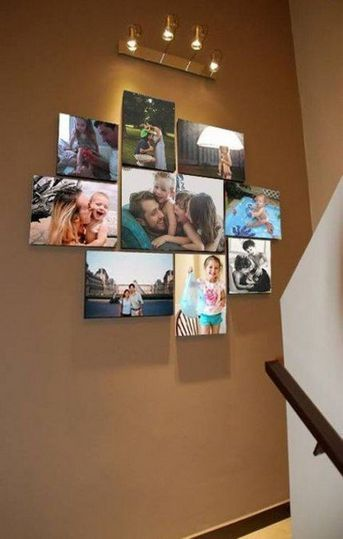Unique Family Picture Wall Ideas 29 Family Pictures On Wall Family Wall Decor Photo Wall Decor