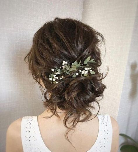 34 Cutest Long Layered Haircuts Trending in 2019 - Style My Hairs Wedding Hair And Makeup, Wedding Hair Accessories, Hair Makeup, Bride Hairstyles, Pretty Hairstyles, Beach Wedding Hair, Wedding Updo, Half Up Wedding Hair, Quinceanera Hairstyles