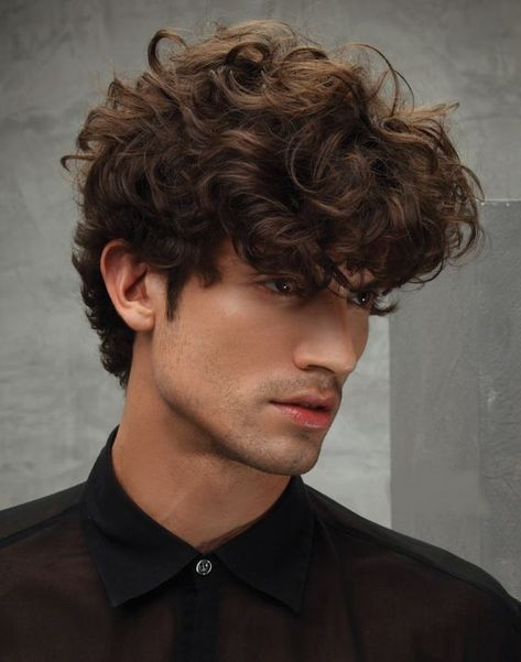 Macho Moda - Blog de Moda Masculina: Cortes de Cabelo Masculino ONDULADO e CACHEADO para 2019, dicas!
