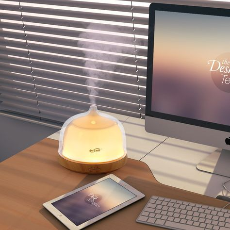 250 ml Ultrasonic aroma Humidifieraromatherapy Essential Oil Diffuser 7 Color Changing LED Cool Mist Humidifier for Home,Yoga,Office,Spa,Bedroom,Baby