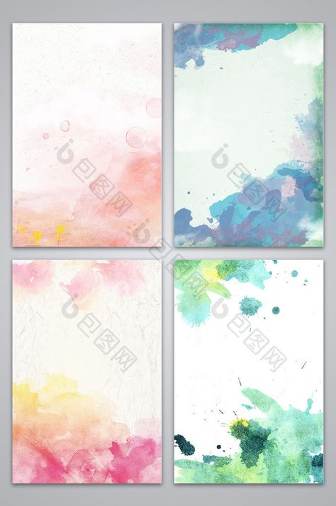 Splatter Watercolor Design Background Image Watercolor Design