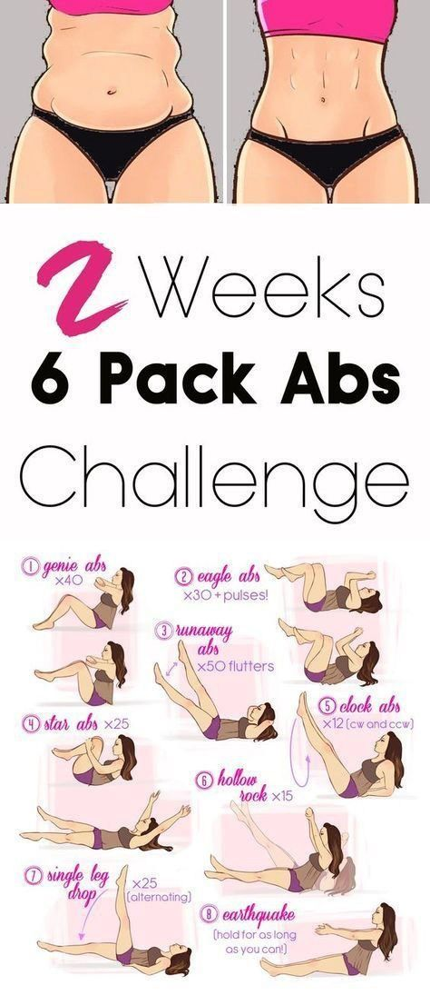 2 WEEKS HARD CORE 6 PACK ABS WORKOUT CHALLENGE
