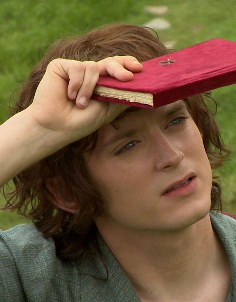 I love Frodo baggins (Elijah wood) his character is so cute